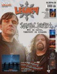Legacy Magazin, The Voice from the Darkside, m. 2 Audio-CDs - Ausg.128