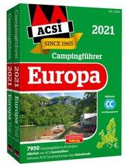 ACSI Internationaler Campingführer Europa 2021, 2 Teile
