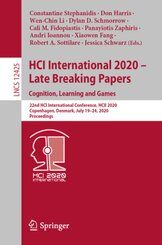 HCI International 2020 - Late Breaking Papers: Cognition, Learning and Games