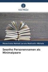 Sesotho Personennamen als Minimalpaare