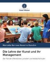 Die Lehre der Kunst und ihr Management