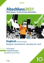 Abschluss 2021 - Mittlerer Schulabschluss Nordrhein-Westfalen Englisch