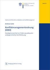 Konfliktmanagementordnung (KMO)