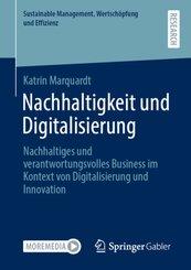 Nachhaltigkeit und Digitalisierung