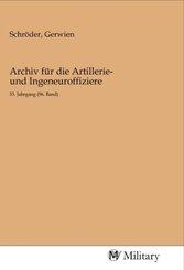 Archiv für die Artillerie- und Ingeneuroffiziere