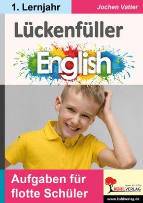 Lückenfüller Englisch / ab 1. Lernjahr