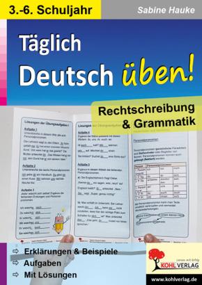 Deutsch-Flyer Rechtschreibung & Grammatik