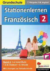 Stationenlernen Französisch / Band 2