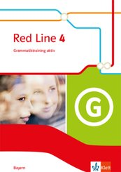 Red Line. Ausgabe für Bayern ab 2017: 8. Klasse, Grammatiktraining aktiv