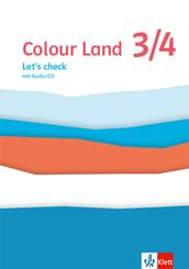 Colour Land 3/4. Ab Klasse 3, m. 1 Audio-CD