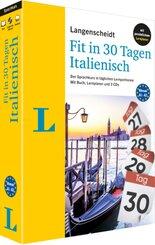 Langenscheidt Fit in 30 Tagen Italienisch, m. 3 Audio-CDs