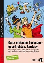 Ganz einfache Lesespurgeschichten: Fantasy