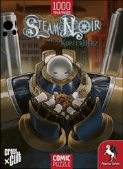 Steam Noir (Das Kupferherz) - Comic Puzzle