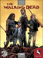 The Walking Dead (Die Zombiejäger) - Comic Puzzle (1000 Teile)