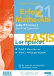 Erfolg im Mathe-Abi 2021 Lernpaket 'Basis' Baden-Württemberg Berufliche Gymnasien, 2 Teile