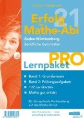 Erfolg im Mathe-Abi 2021 Lernpaket 'Pro' Baden-Württemberg Berufliche Gymnasien, 4 Teile