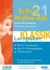 Erfolg im Mathe-Abi 2021 Lernpaket 'Klassik' Baden-Württemberg Berufliche Gymnasien, 3 Teile