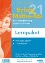 Erfolg in der Mathe-Prüfung Fachhochschulreife 2021 Lernpaket Baden-Württemberg, 2 Teile