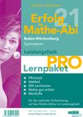 Erfolg im Mathe-Abi 2021 Lernpaket Leistungsfach 'Pro' Baden-Württemberg Gymnasium, 4 Teile