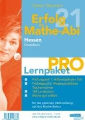 Erfolg im Mathe-Abi 2021 Hessen Lernpaket 'Pro' Grundkurs, 4 Teile