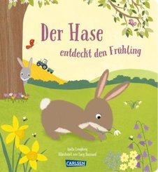 Der Hase entdeckt den Frühling