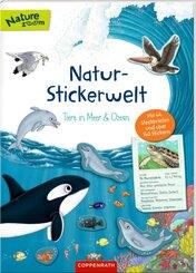 Natur-Stickerwelt: Tiere in Meer und Ozean
