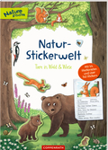 Natur-Stickerwelt: Tiere in Wald und Wiese