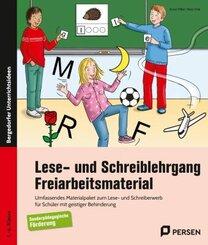 Lese- und Schreiblehrgang - Freiarbeitsmaterial