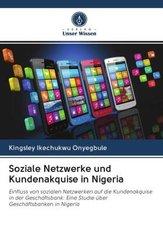 Soziale Netzwerke und Kundenakquise in Nigeria