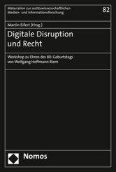Digitale Disruption und Recht