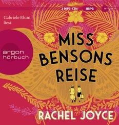 Miss Bensons Reise, 2 Audio-CD, MP3