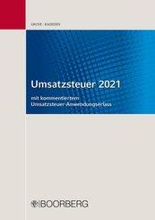 Umsatzsteuer 2021