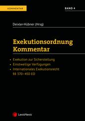Exekutionsordnung - Kommentar Band 4