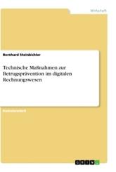 Technische Maßnahmen zur Betrugsprävention im digitalen Rechnungswesen