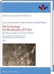 Die Grabanlage des Monthemhet (TT 34) I, 4 Teile