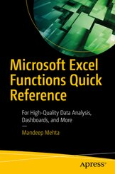 Microsoft Excel Functions Quick Reference