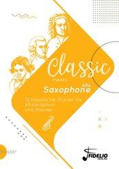 Classic meets Alto-Saxophone, 10 Teile