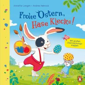 Frohe Ostern, Hase Klecks!