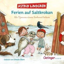 Ferien auf Saltkrokan. Als Tjorven einen Seehund bekam, 1 Audio-CD
