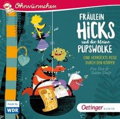 Fräulein Hicks und die kleine Pupswolke, 1 Audio-CD