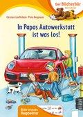 In Papas Autowerkstatt ist was los!