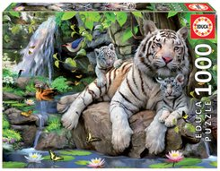 Bengal White Tigers (Puzzle)
