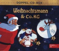 Weihnachtsmann & Co. KG Doppel-Box, 2 Audio-CD - Tl.1+2