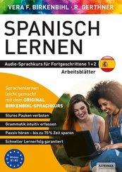 Arbeitsbuch zu Spanisch lernen Fortgeschrittene 1+2