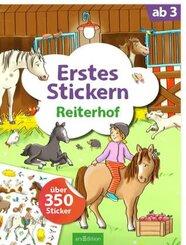 Erstes Stickern Reiterhof