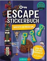 Escape-Stickerbuch - Nachts im Museum