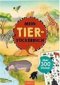Mein Tier-Stickerbuch