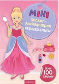 Mini-Sticker-Anziehpuppen Prinzessinnen