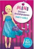 Mini-Sticker-Anziehpuppen Party-Girls