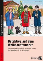 Detektive auf dem Weihnachtsmarkt